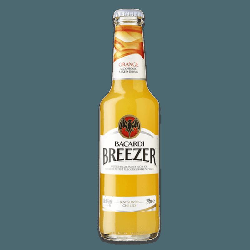 Comprar BACARDI BREEZER ORANGE al mejor precio en BNG Bebidas - Compra Listo Para Beber BACARDI online al mejor precio en BNG bebidas.