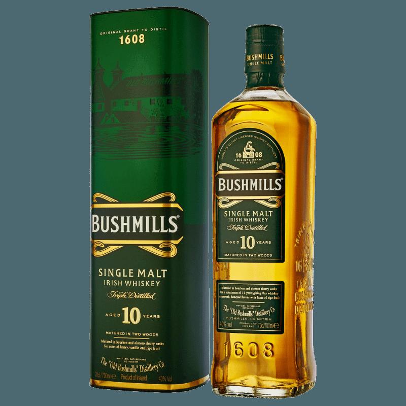Comprar BUSHMILL MALTA 10 ANOS al mejor precio en BNG Bebidas - Compra Whiskys BUSHMILLS online al mejor precio en BNG bebidas.