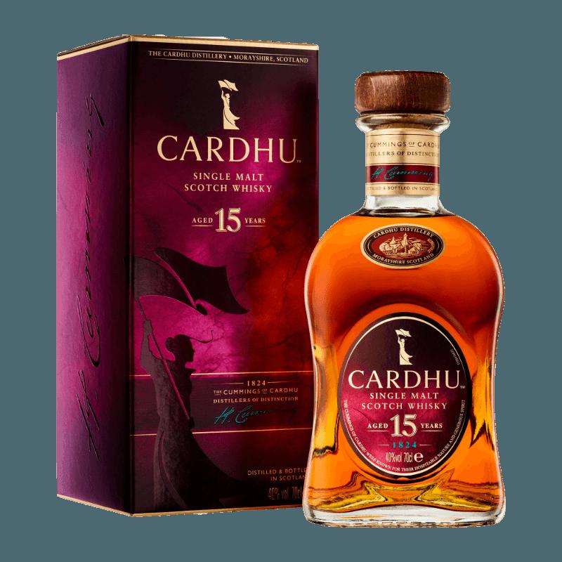 Comprar CARDHU SINGLE MALT 15 ANOS al mejor precio en BNG Bebidas - Compra Whiskys CARDHU online al mejor precio en BNG bebidas.