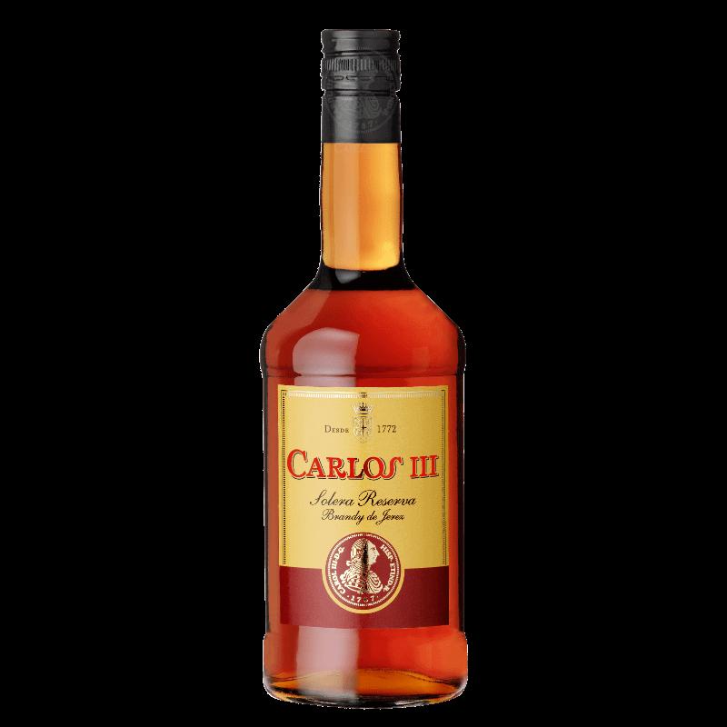Comprar CARLOS III al mejor precio en BNG Bebidas - Compra Brandy Y Cognacs CARLOS online al mejor precio en BNG bebidas.