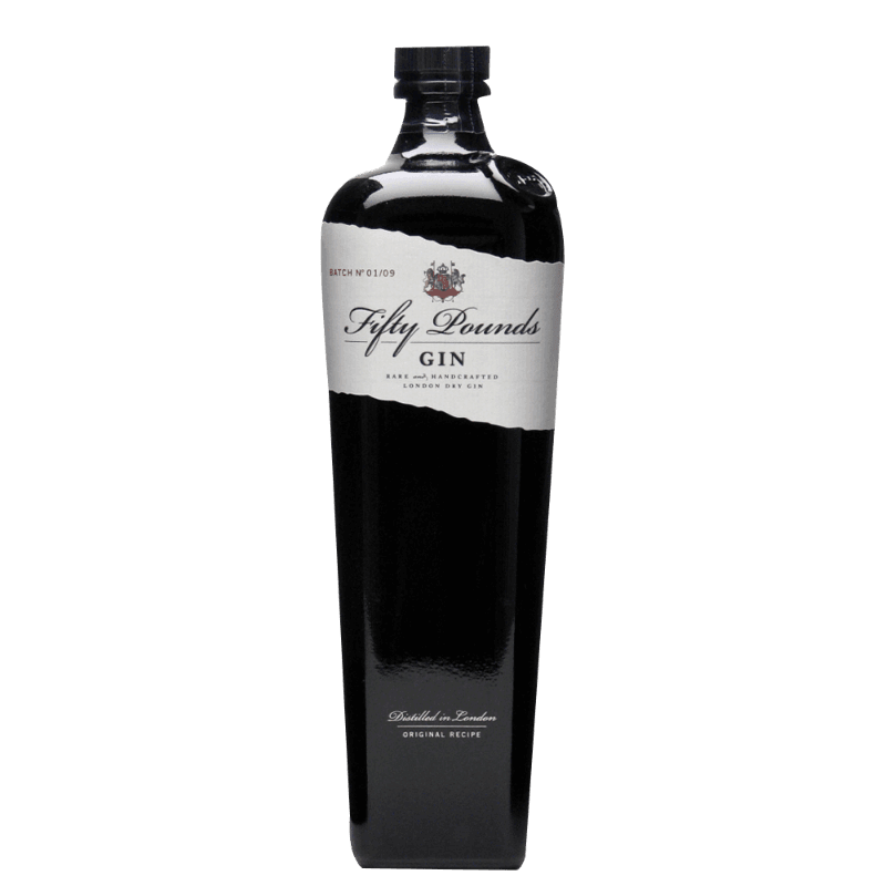 Comprar GIN FIFTY POUNDS al mejor precio en BNG Bebidas - Compra Ginebras FIFTY POUNDS online al mejor precio en BNG bebidas.