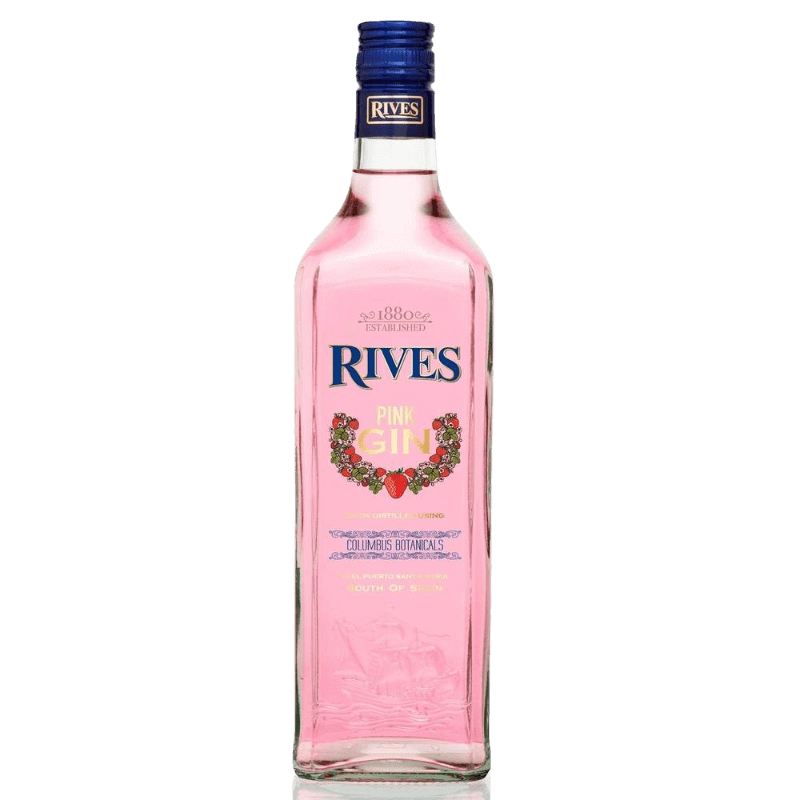 Comprar GIN PINK RIVES al mejor precio en BNG Bebidas - Compra Ginebras RIVES online al mejor precio en BNG bebidas.