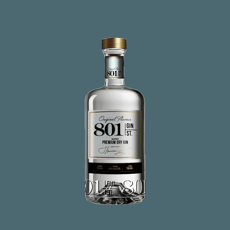 Comprar GIN PREMIUM  801 ST al mejor precio en BNG Bebidas - Compra Ginebras GIN 801 online al mejor precio en BNG bebidas.