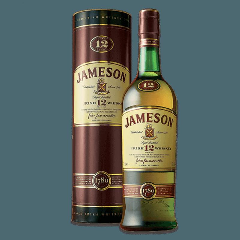 Comprar JAMESON 12 ANOS al mejor precio en BNG Bebidas - Compra Whiskys JAMESON online al mejor precio en BNG bebidas.