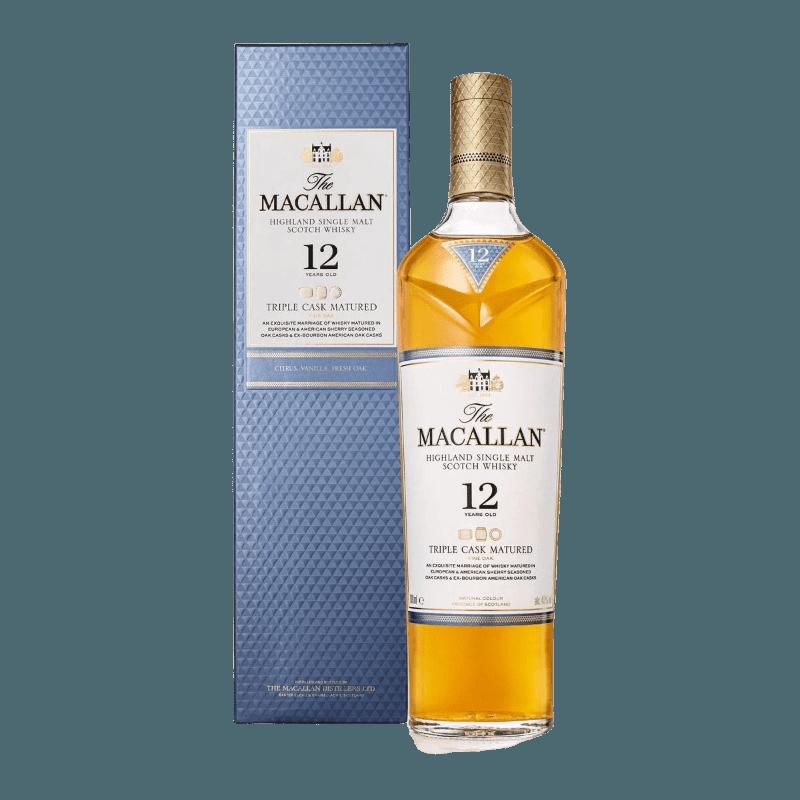Comprar MACALLAN 12 AÑOS TRIPLE CASK al mejor precio en BNG Bebidas - Compra Whiskys MACALLAN online al mejor precio en BNG bebidas.