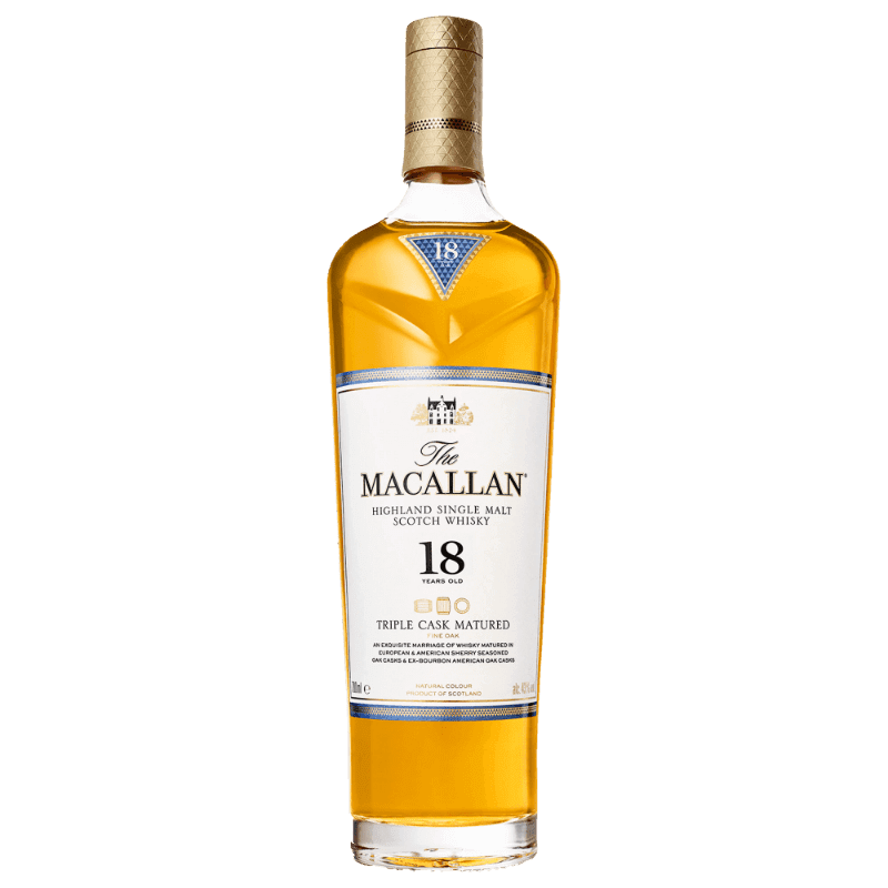 Comprar MACALLAN 18 AÑOS TRIPLE CASK al mejor precio en BNG Bebidas - Compra Whiskys MACALLAN online al mejor precio en BNG bebidas.