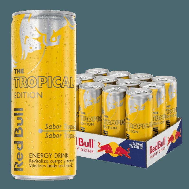 Comprar RED BULL TROPICAL (12 UNDS) al mejor precio en BNG Bebidas - Compra Bebida Energetica RED BULL online al mejor precio en BNG bebidas.