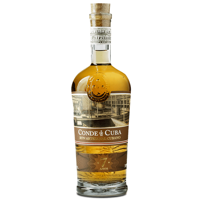Comprar RON CDC 7 AÑOS PREMIUM al mejor precio en BNG Bebidas - Compra Rones CONDE DE CUBA online al mejor precio en BNG bebidas.