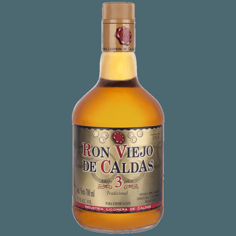 Comprar RON VIEJO DE CALDAS 3 ANOS al mejor precio en BNG Bebidas - Compra Rones VIEJO DE CALDAS online al mejor precio en BNG bebidas.