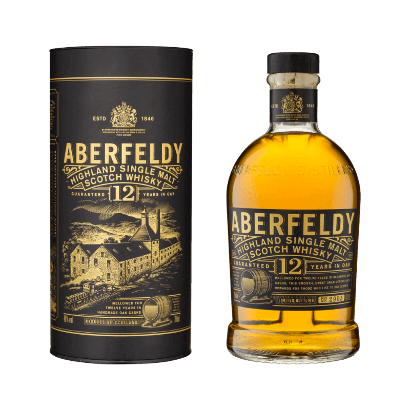 Comprar WHISKY ABERFELDY 12 AÑOS al mejor precio en BNG Bebidas - Compra Whiskys ABERFELDY online al mejor precio en BNG bebidas.