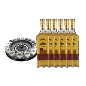 PACK 6 JOSE CUERVO RULETA 16 CHUPITOS